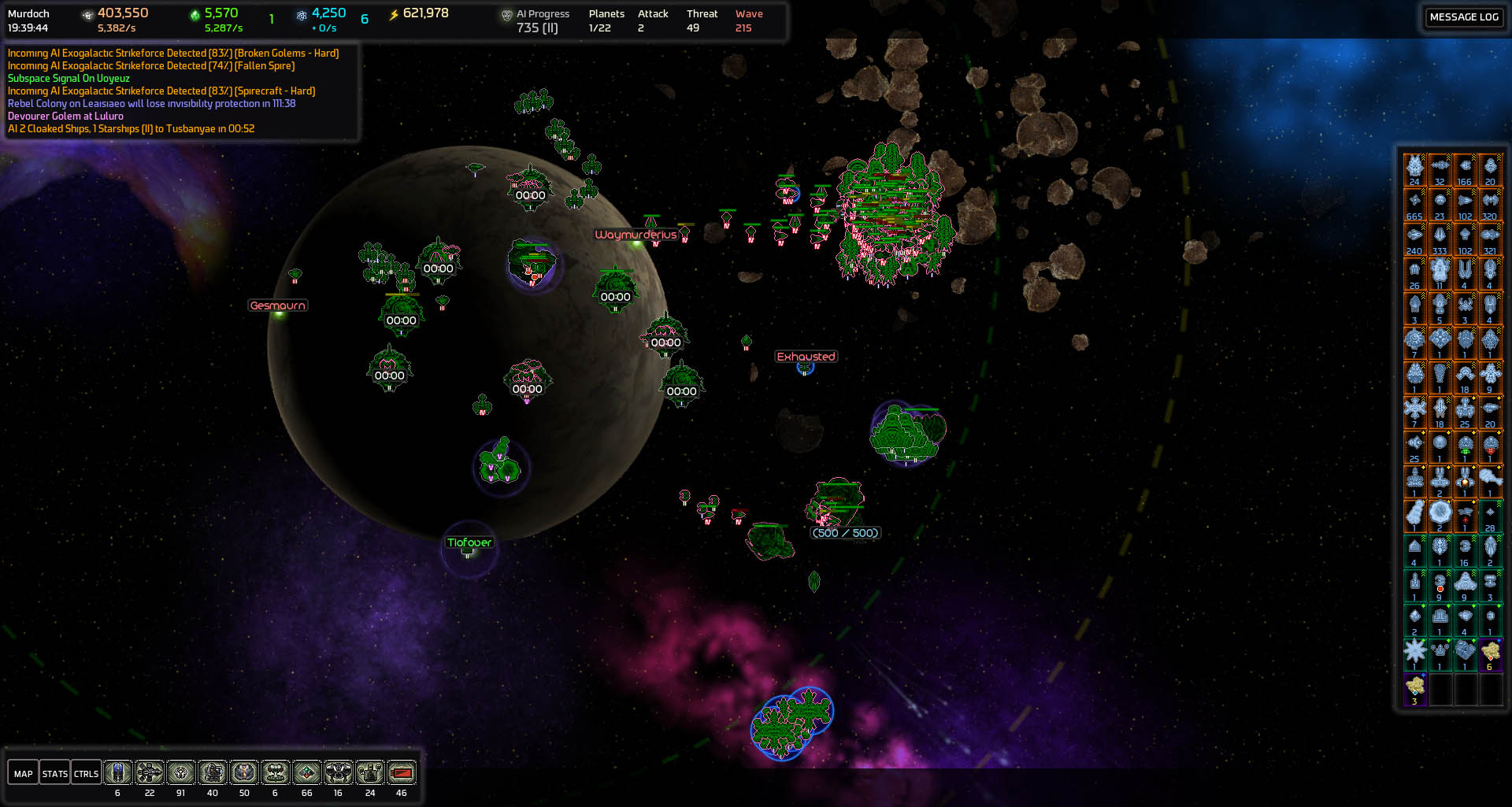 2500 Ships And Counting Far Zoom