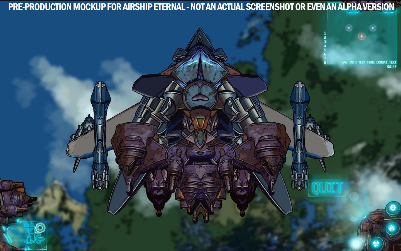 Airship Eternal – Concept Screenshot