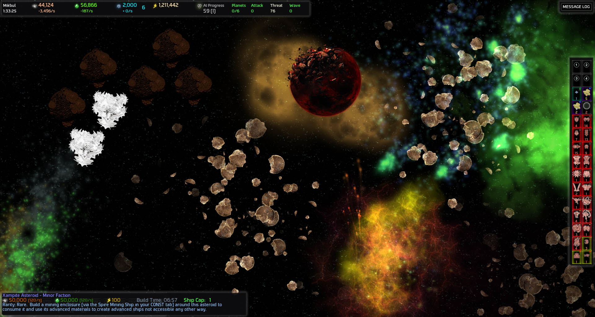 Asteroids Waiting To Be Mined