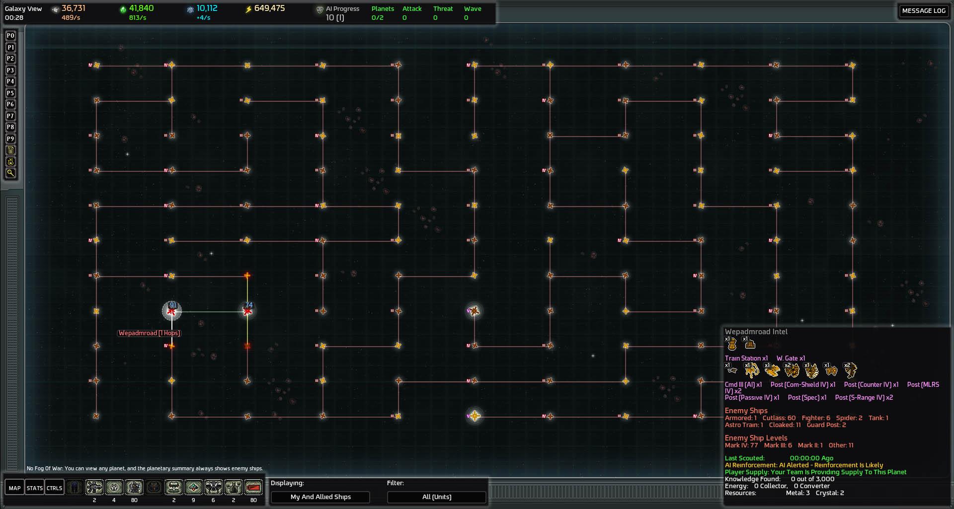 Maze Galaxy Map