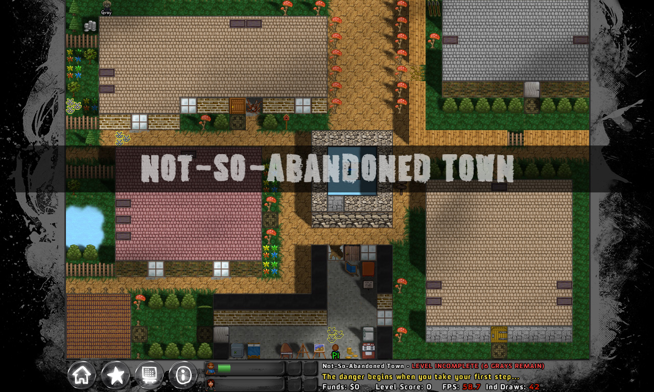 Not So Abandoned Town
