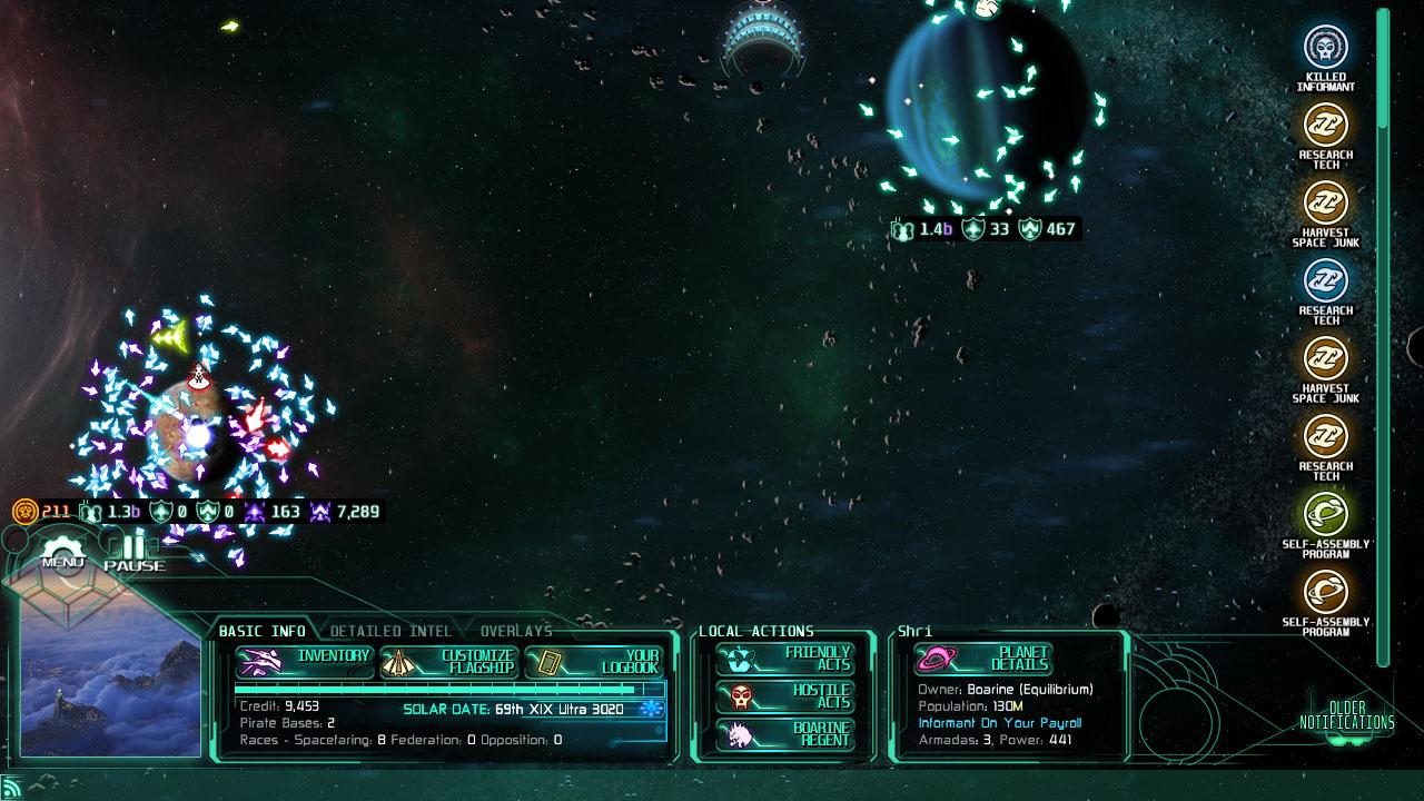 Sieged Planet