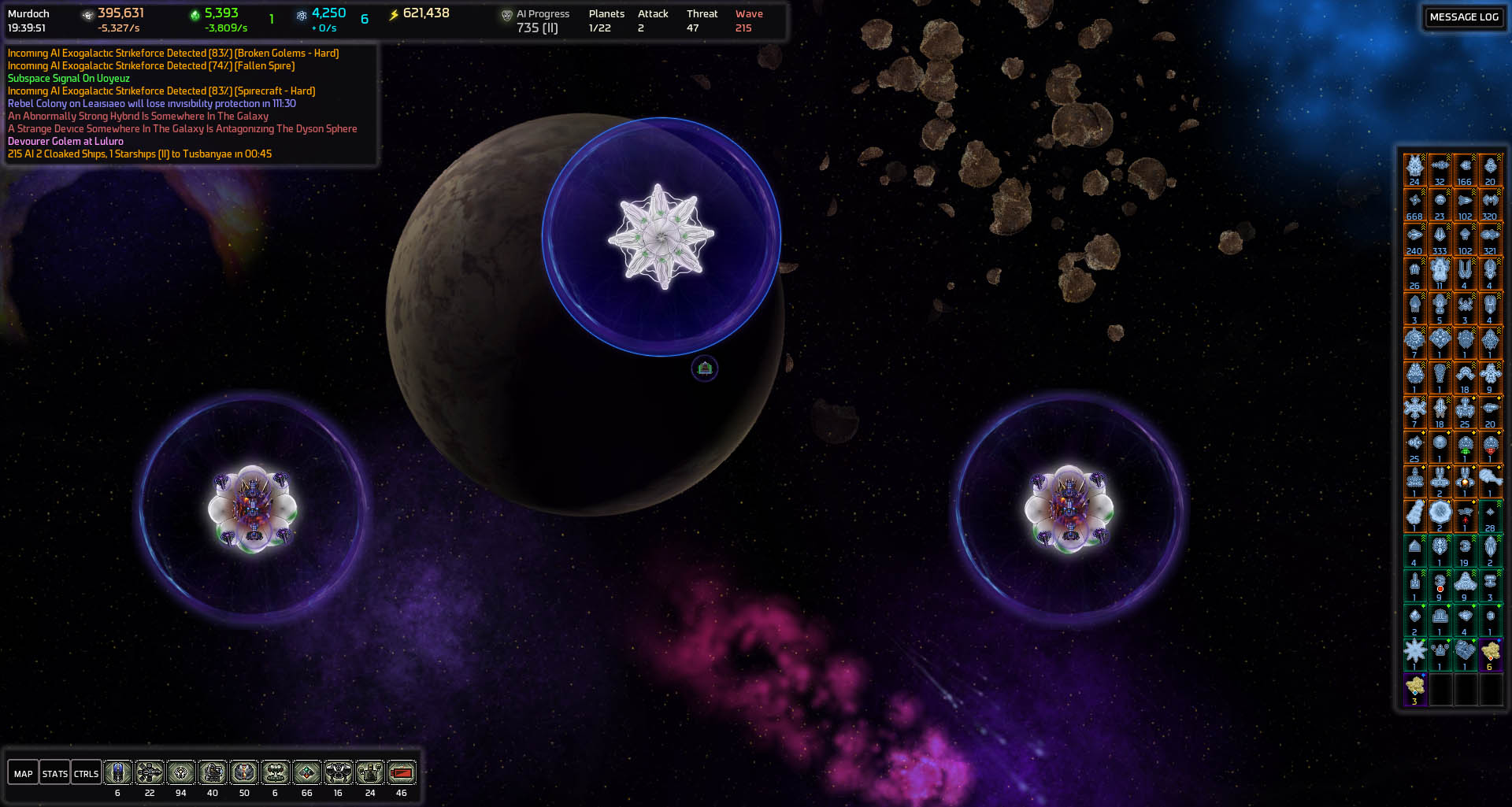 Spire Hub And Reactors