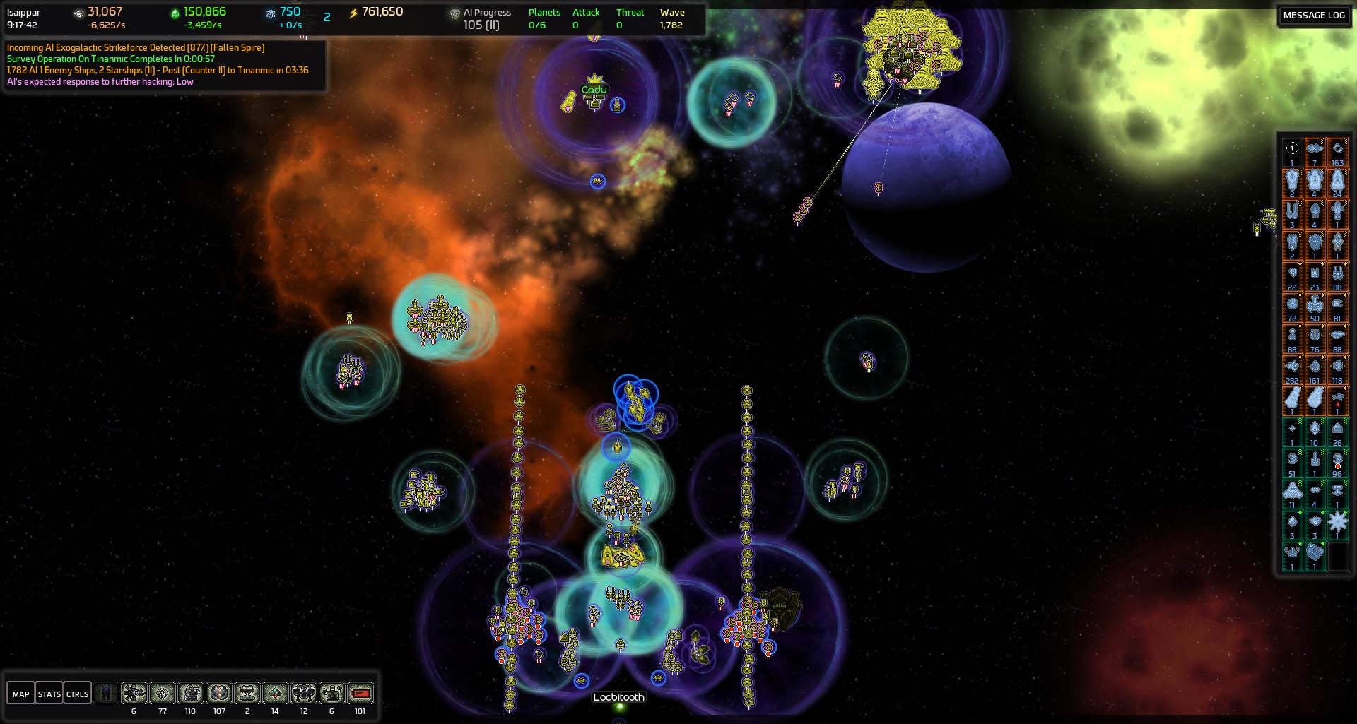 Spire Planetary Defenses Far Zoom