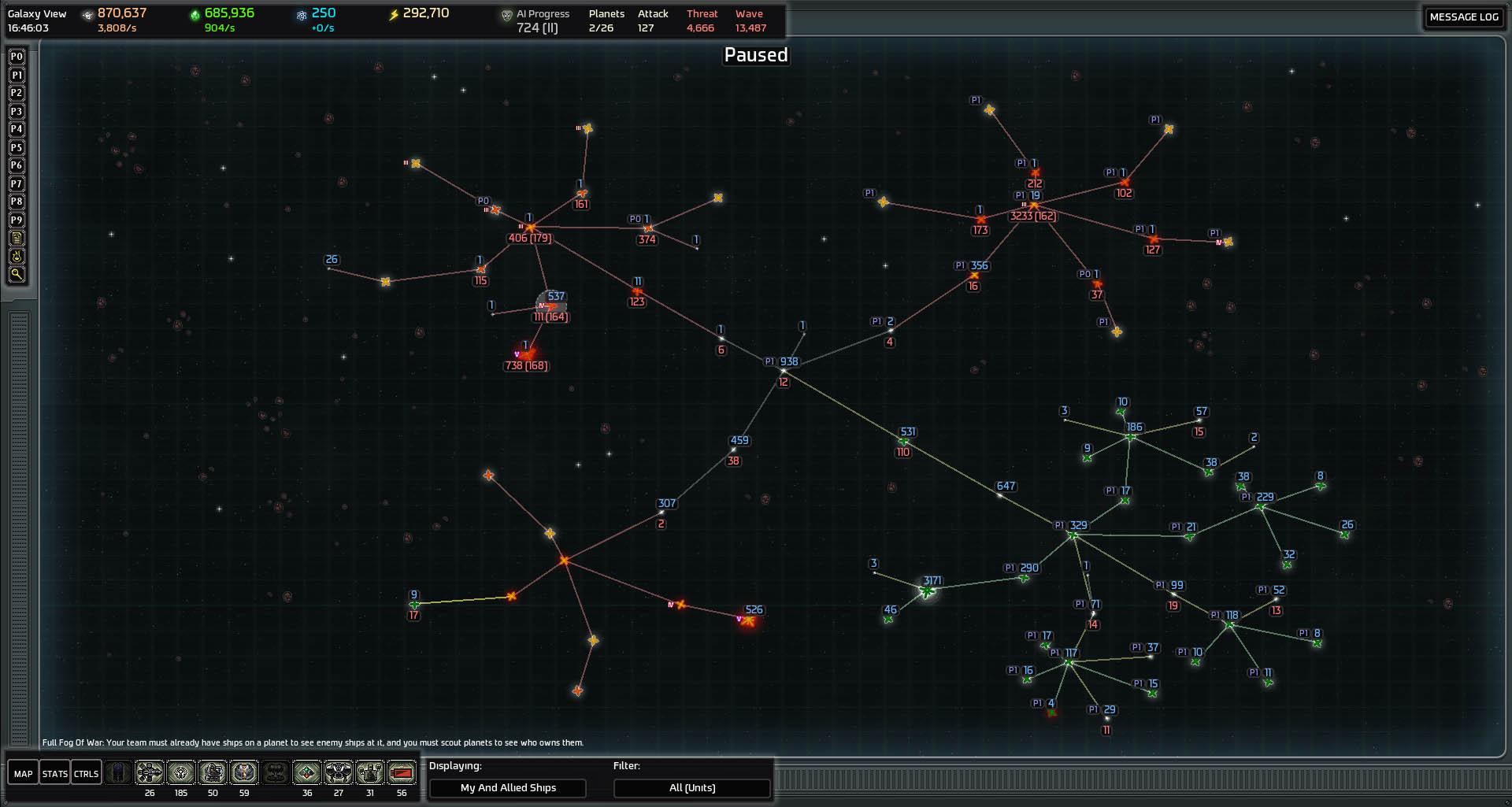 X Galaxy Map